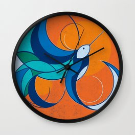 One with the sun Wall Clock