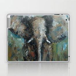 The Elephant | Oil Painting Laptop & iPad Skin