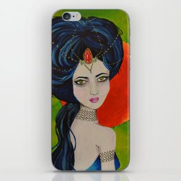 Jewel Queen iPhone Skin