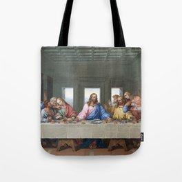 The Last Supper by Leonardo da Vinci Tote Bag
