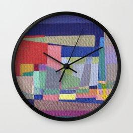 Olympic Village Wall Clock