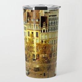 Paris - Skyline from the Pompidou Travel Mug