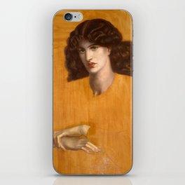 Dante Gabriel Rossetti, The Lady of Pity, 1881 iPhone Skin