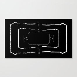 Welcome mat deployed II Canvas Print