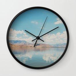 beautiful reflections ... Wall Clock