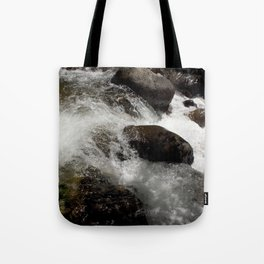 A Place to Contemplate, on Fall Creek Tote Bag
