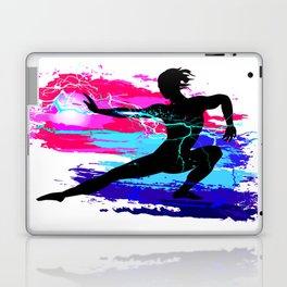 Martial arts, karate, yoga, aikido, judo, athlete Laptop & iPad Skin