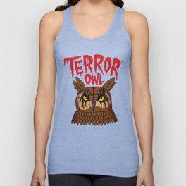 Terror Owl Unisex Tank Top