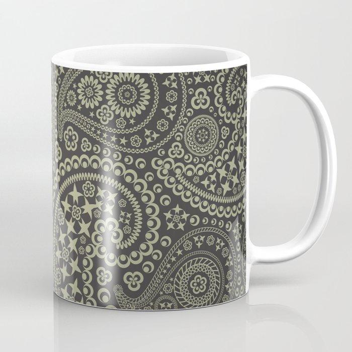Paisley Stars Coffee Mug