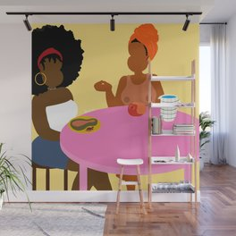 Breakfast For Two Wall Mural