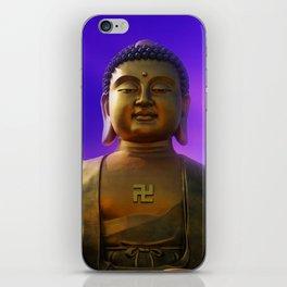 Buddha Blue Dawn iPhone Skin