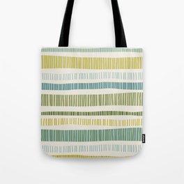 Yellow Stripes Tote Bag