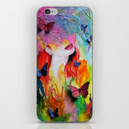 Dripping With Finesse iPhone Skin