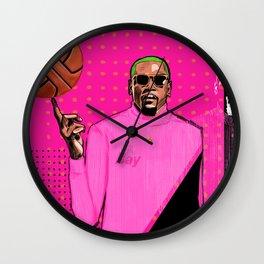 Durant, The Slim Reaper Wall Clock