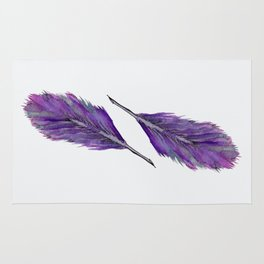 Twin Feathers Rug