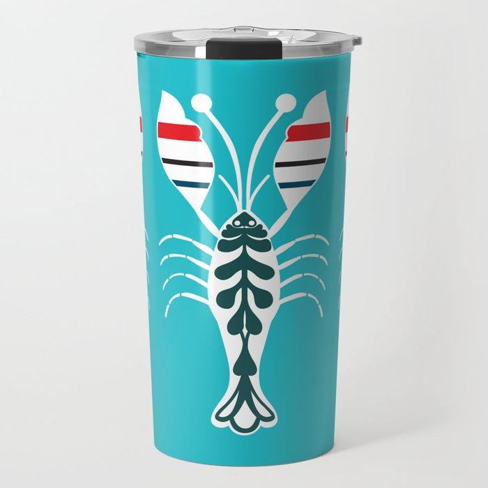 Summertime Lobster Travel Mug