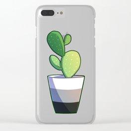 Aro cactus Clear iPhone Case