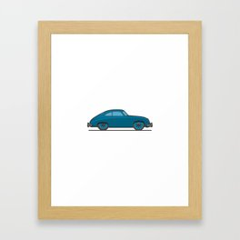 #18 Porsche 356 Framed Art Print