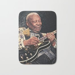 BB King Bath Mat