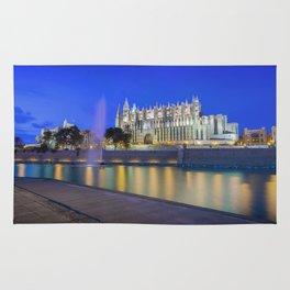 Palma Cathedral,Mallorca,Spain Rug