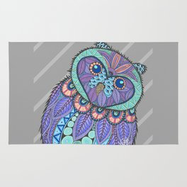 Spring Owl Rug