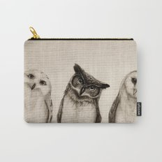 The Owl's 3 Carry-All Pouch