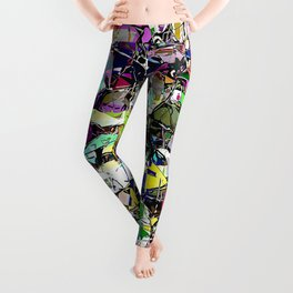 Chaos In Color Leggings