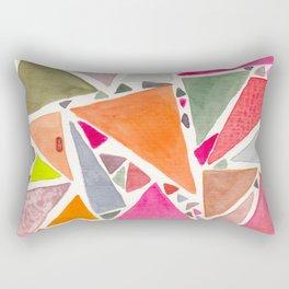 pink 6 de pique - SIX of spades Rectangular Pillow