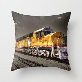 Union Pacific Centennial Throw Pillow