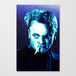 James Cagney, blue Madness. Canvas Print