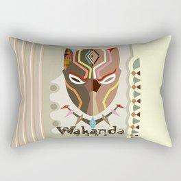 Wakanda Zone Rectangular Pillow