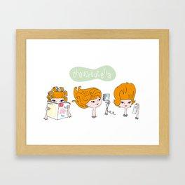 Choucroutella Framed Art Print