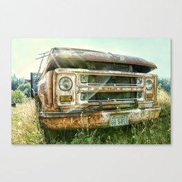 Vintage Chevy Truck Canvas Print