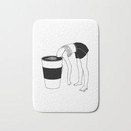 Coffee, First Bath Mat