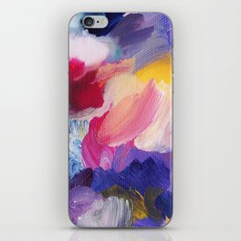 Robbie Abstract Painting iPhone Skin