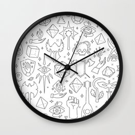 DnD Forever Wall Clock