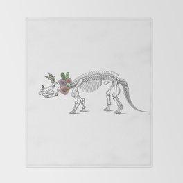 Tri-rosie-tops Throw Blanket