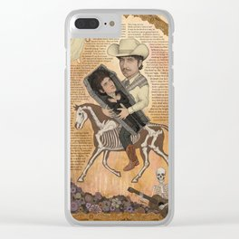 Bob Dylan - Find Out Something Only Dead Men Know Clear iPhone Case