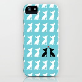 Dog Love 2 iPhone Case