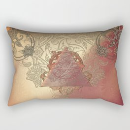 By Eternal Time Rectangular Pillow