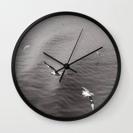 t e x t i l e   s e a Wall Clock