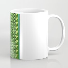 Yzor pattern 009 green-blue summer Coffee Mug