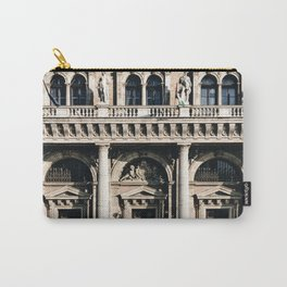 Stunning Symmetrical Classic Budapest Facade Carry-All Pouch