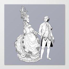 Duke and Duchess Canvas Print