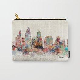 Cincinnati ohio skyline Carry-All Pouch