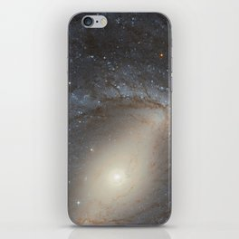 Barred Spiral Galaxy NGC 4394 iPhone Skin
