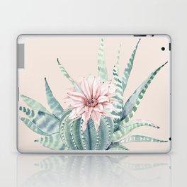 Aloe Cactus Rose Pink Laptop & iPad Skin