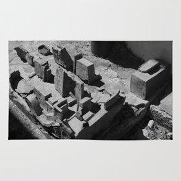 The Clay Labyrinth Ruins Rug