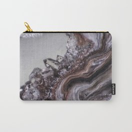 Tiny Agate and crystals Carry-All Pouch
