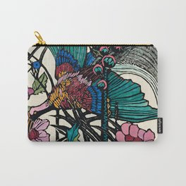 """Bird of Paradise"" by Margaret Preston Carry-All Pouch"